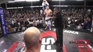 Pat Cummins vs Ricky Pulu Xplode Fight Series March 16, 2013 Revancha