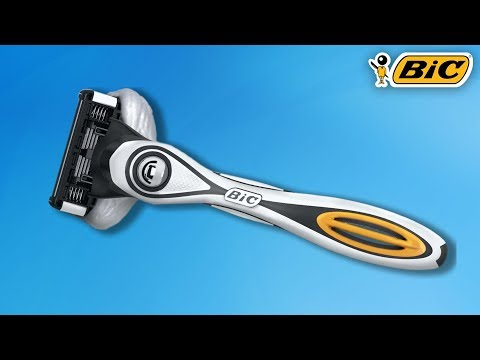 bic-flex5-hybrid-disposable-razor-[unboxing]