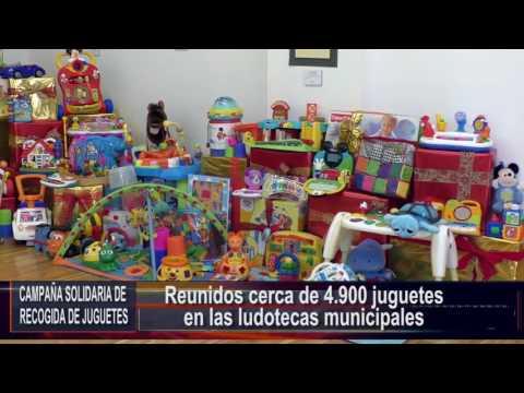 Campaña solidaria de recogida de juguetes 2016-2017