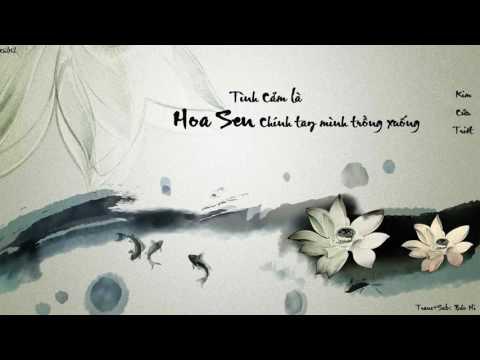[Vietsub] Tình cảm là hoa sen chính tay mình trồng xuống - Kim Cửu Triết [情是自己亲手种下的莲花 - 金久哲]