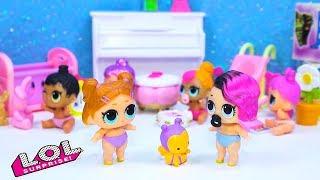 Куклы ЛОЛ Сюрприз Сборник-мультики №20 | Игрушки LOL Dolls