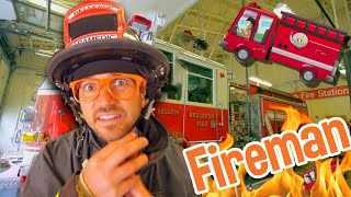Blippi Firetruck Song - How to Be a Firefighter | Learning For Toddlers |Educational Videos For Kids
