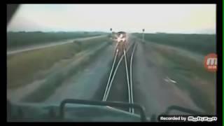 Funny train video