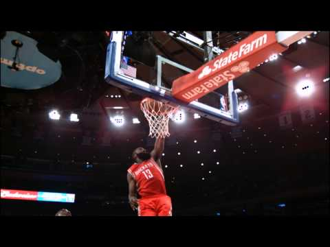 James Harden Takes Flight With The Houston Rockets In 2013