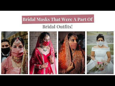 beautiful-bridal-mask-ideas-for-brides-having-intimate-wedding-|-shaadiwish