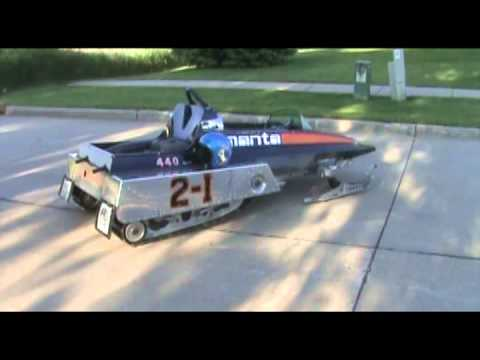 1974 Racing Manta Snowmobile Youtube