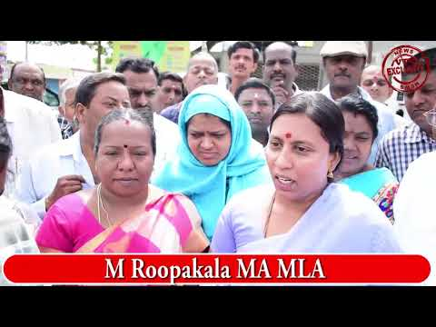 KGF VTV NEWS|| M Roopakala MA MLA visit KGF today|| How did Congress win in KGF