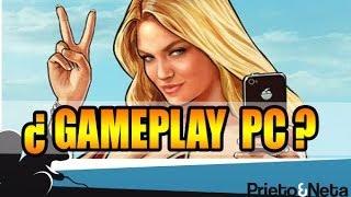 RESUBIDO // GTA V para PC: ¿Gameplay filtrado? ELIMINADO ¿Por que lo eliminan si es fake?