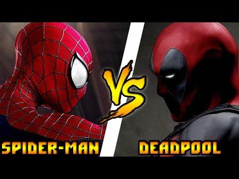 Кто кого? #57 Человек-Паук (Marvel) vs Дэдпул (Marvel)