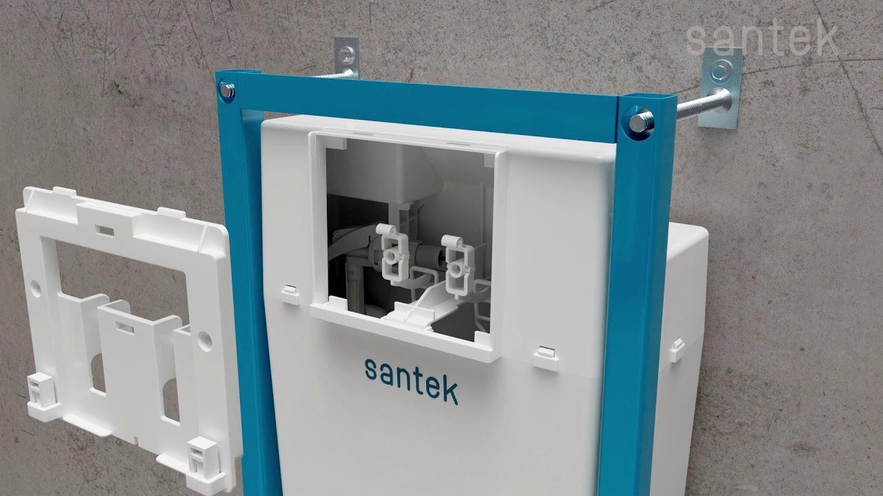Установка инсталляции SANTEK