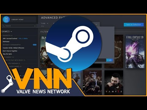 Exploring the New LEAKED Steam Library Update