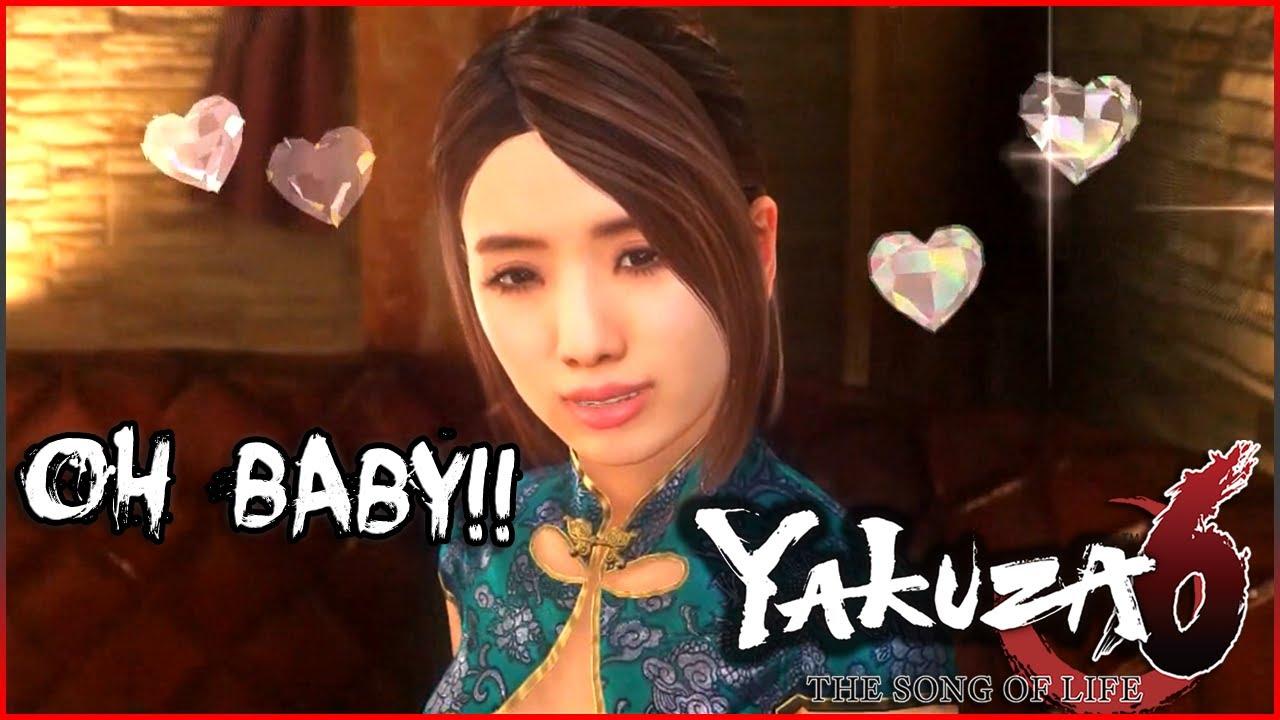 Yakuza 6: Hostess Club with Sora - YouTube