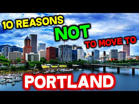 Top 10 Reasons NOT to Move to Portland, Oregon
