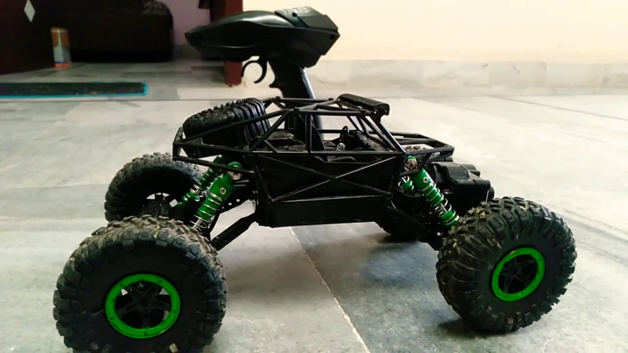 Unboxing And Testing Rc Rock Crawler 4wd Rally Car Youtube