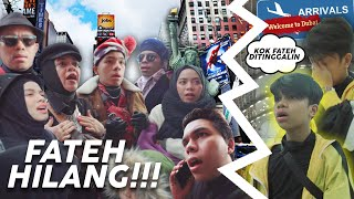 Touch Down Di New York, Fateh Ketinggalan Di Dubai Sendirian **PANIK RUSUH** (Home Alone Remake)