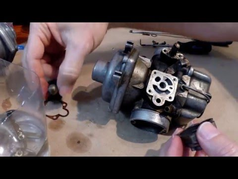Bing 32mm CV carb rebuild (Pt  1) - Very detailed/Seized