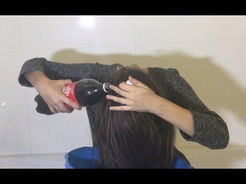 Что будет если волосы помыть колой видео