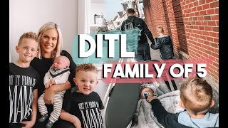 A TYPICAL SATURDAY AS FAMILY OF FIVE | DAY IN THE LIFE WITH A NEWBORN AND TWO KIDS