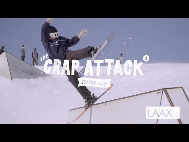The Crap Attack 2017 #3 LAAX