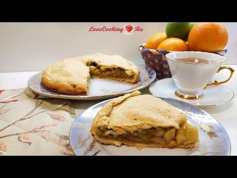 Английский яблочный пирог - просто, но очень вкусно   LoveCookingRu