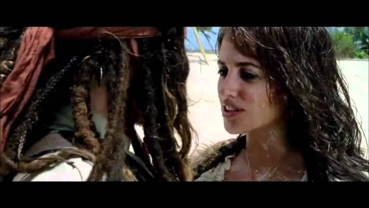 Jack Sparrow & Angelica - Piratas Caribe 4