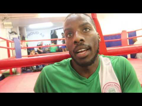'IT'LL BE A HARD ASK FOR TONY BELLEW TO BEAT DAVID HAYE' -SAYS EDDIE HEARN'S NEW BOY LAWRENCE OKOLIE