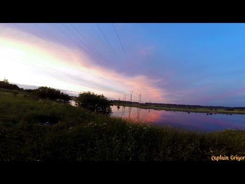 Уклейка и Щука, рыбалка на реке Волхов/ Fishing On The River Volkhov