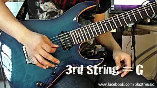 Drop D Guitar Tuner by WHIN [D-A-D-G-B-E]