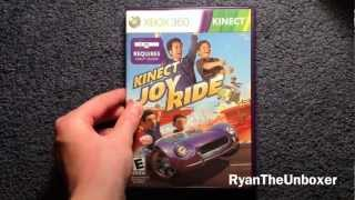Kinect Joy Ride For Xbox 360 Kinect: Unboxing