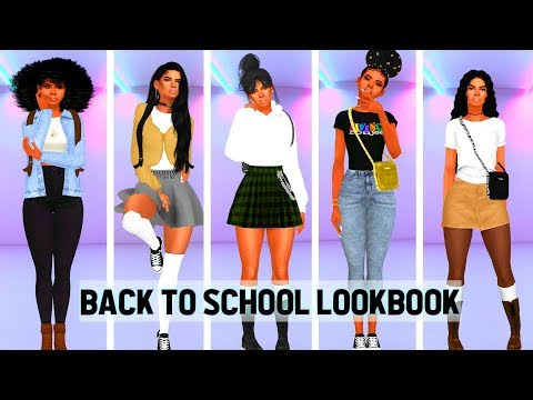 The Sims 4✏️ Back to School Lookbook✏️Uniforms and Casual looks
