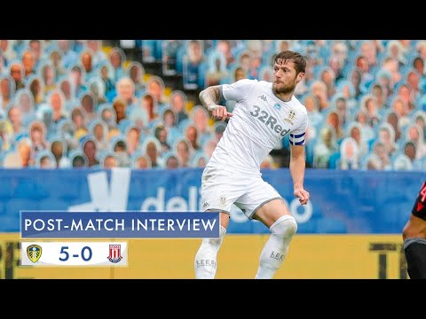 Post-match interview | Liam Cooper | Leeds United 5-0 Stoke City