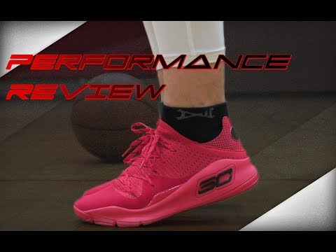 Under Armour Curry 4 Low Performance Review