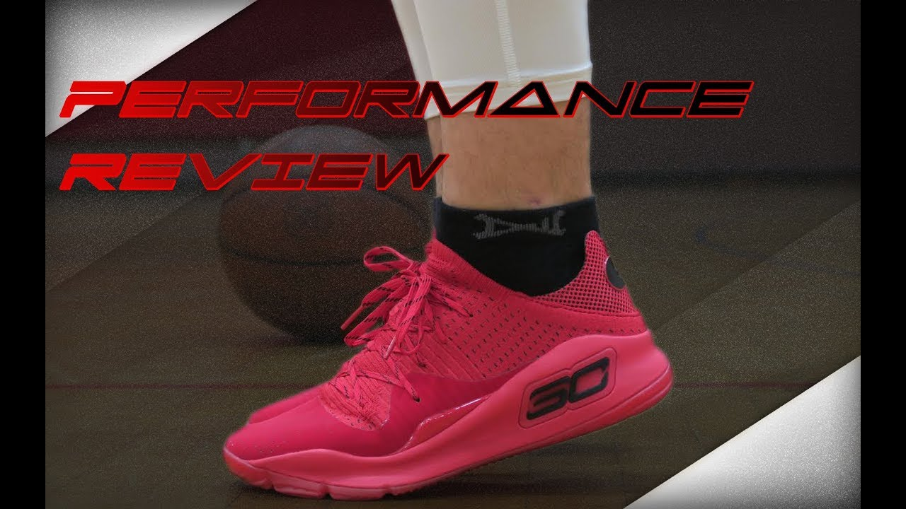 9820eea61c7c Under Armour Curry 4 Low Performance Review - YouTube