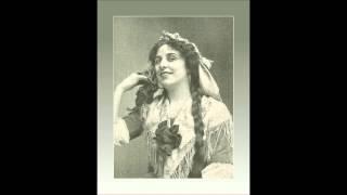 """Soprano GERALDINE FARRAR -   Don Giovanni  """"Batti batti, o bel Masetto""""   (1908)"""