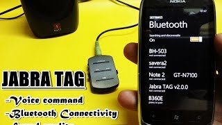 jabra Tag - Voice Command Review