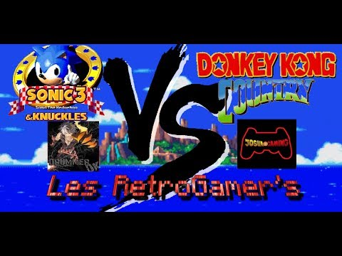 Sonic The Hedgehog 3 Knuckles & Donkey Kong Country | JosuaGaming & CraziuDK
