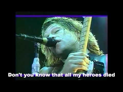 Bon Jovi - These Days Lyrics