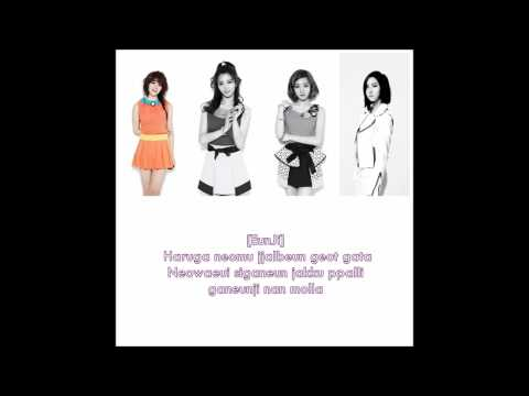 A Pink - Step (lyrics) - Romanization | Member Coded