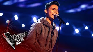 Joshua Performs 'You Are The Reason' | Blind Auditions | The Voice Kids UK 2020