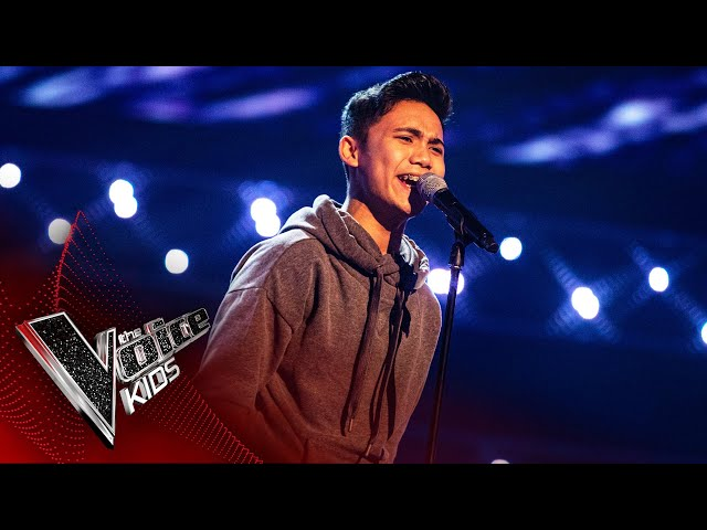Joshua Performs 'You Are The Reason' | Blind Auditions | The Voice Kids UK 2020 - The Voice Kids UK