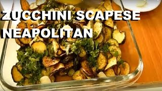 Italian Food Zucchini scapece are a typical dish of Neapolitan cuisine #italian #food #italianfood