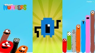 Fun Monsters Part 2 Puzzles - Dragonbox: Numbers (iPad, iPhone, Android). Fun game for kids.