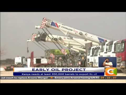Kenyatta to flag off early oil exports from Lokichar fields