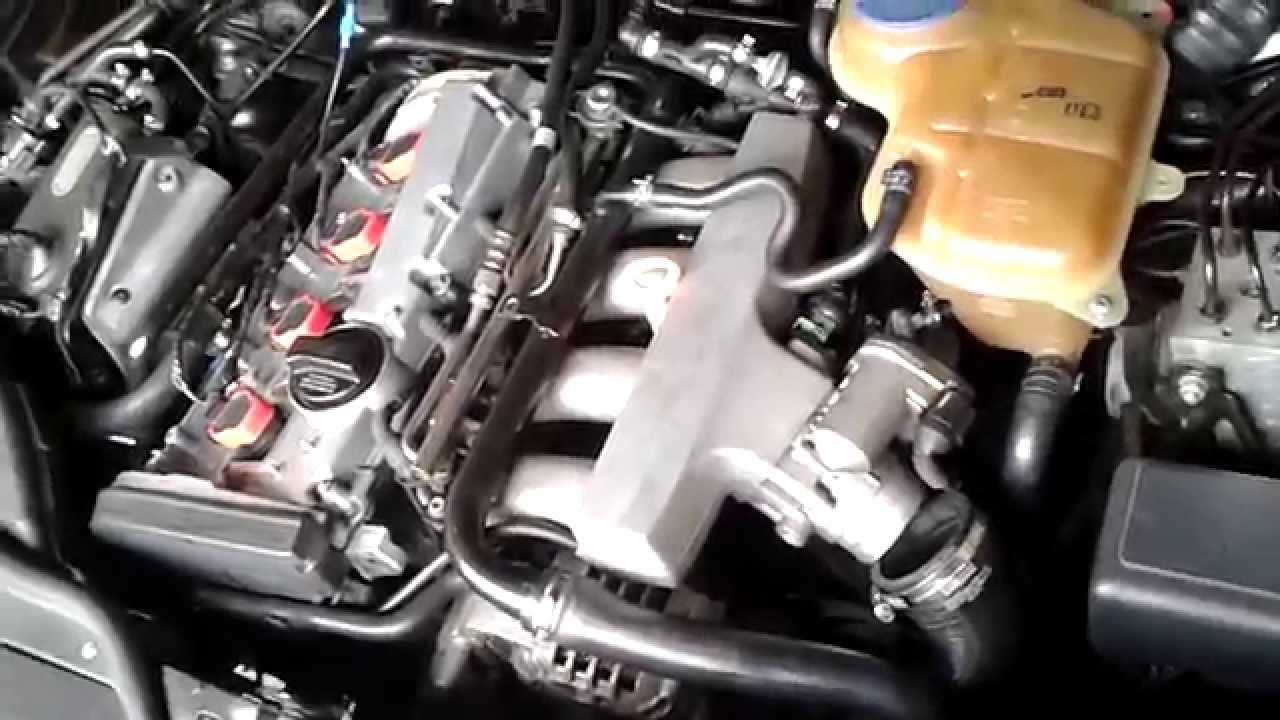 2000 VW Passat 1.8T- Oil in air intake - YouTube