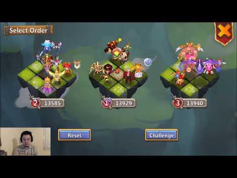 The HEART BREAKER TEAM LBF Castle Clash