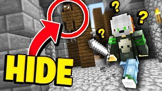 HE NEVER FOUND ME! (Minecraft Murder Mystery Camo Trolling)