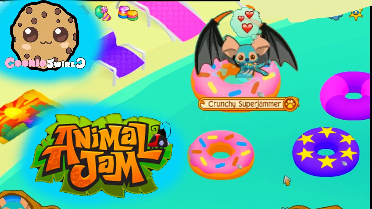 Game play with cookie fans random pool party dens video youtube