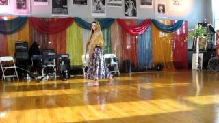 Russian gypsy inspired dance with shawl(This is my first dance performance, presented at Piper`s Birthday concert at Moody Street Circus, Waltham, Ma. First part - dance with shawl, second - my ..., 2012-06-10T22:19:20.000Z)