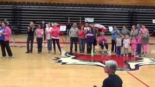 10 Years of Hoops for Hope Honorees Plus 2015 Honoree Viccie Dennin.