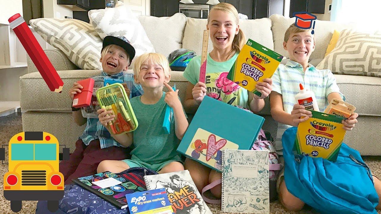 Homeschool To Public School  4 Kids First Time School -4922